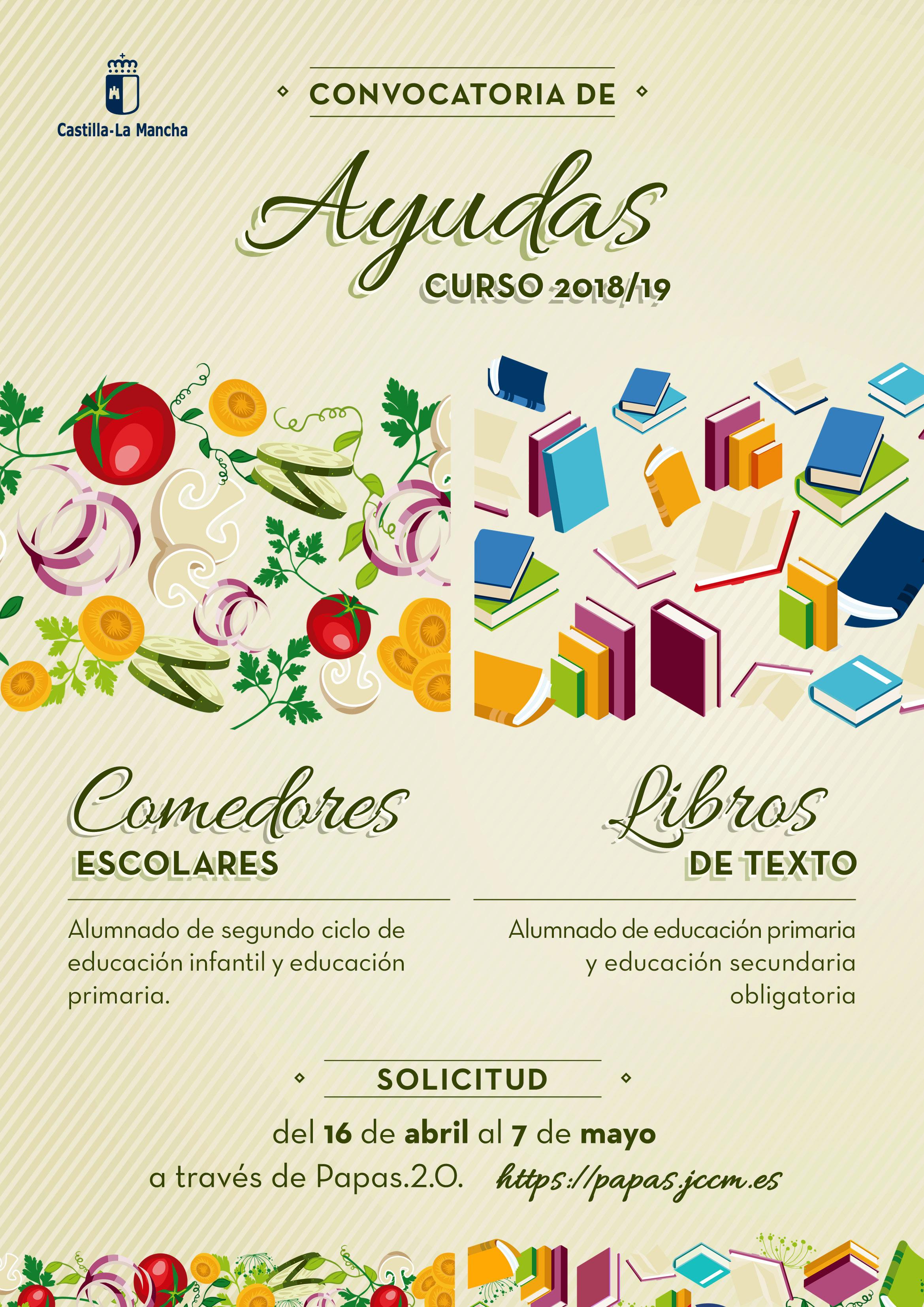 PLAZO SOLICITUD AYUDAS COMEDOR Y LIBROS DE TEXTO | CEIP ...